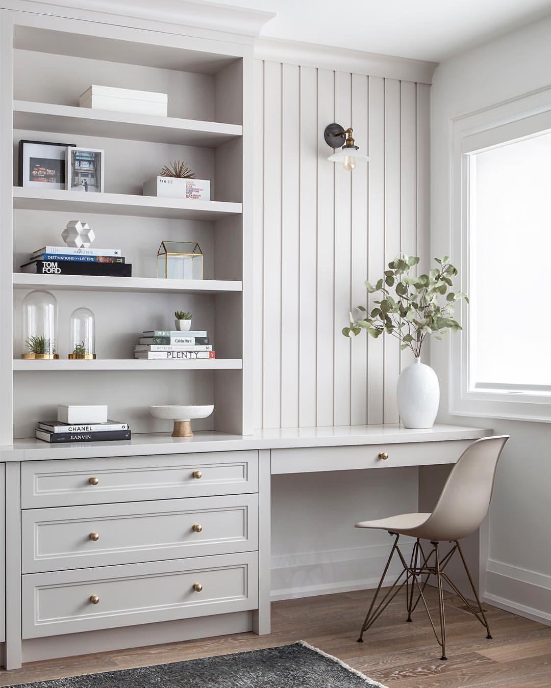 Sweet Little Desk Nook Off A Spacious, Light-filled Family