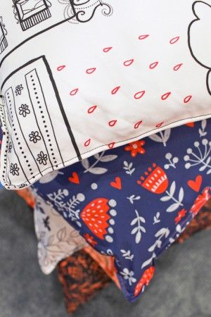[ inspirational + fabric design + pattern illustrations + fun + beautiful ]  Oh So Beautiful Paper: Dinara Mirtalipova at #Surtex 2013