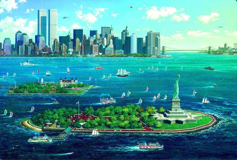"ITEX >> Marketplace >> Listings >> Alexander Chen ""New York Gateway"", Santa Monica, CA, Online Marketplace, For Sale"