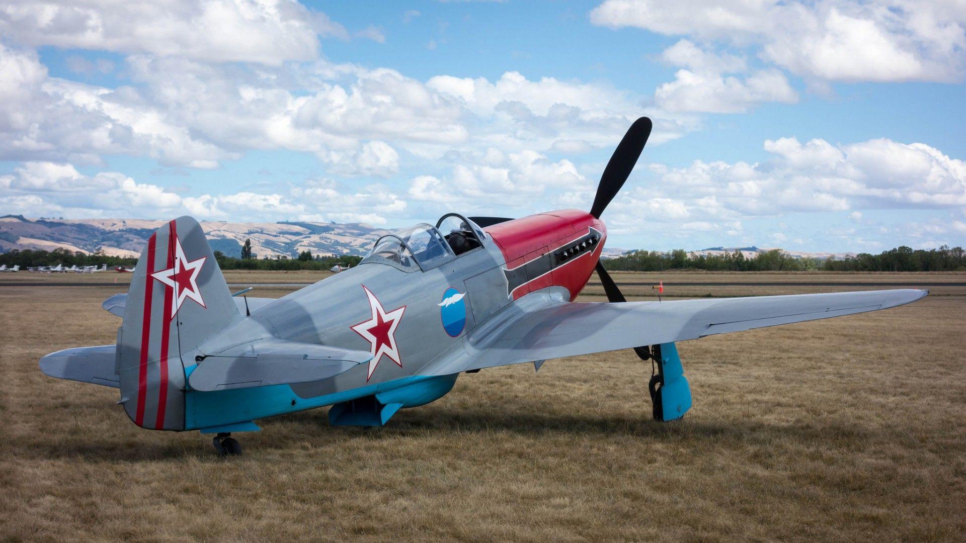 Обои одномоторный, советский, истребитель, yak-3. Авиация foto 10