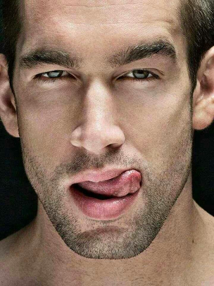 why do guys lick their lips
