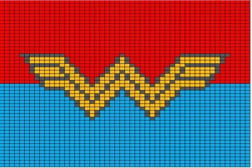 Batman Knitting Chart Pattern : Superhero Logo Charts Batman green lantern, Superhero logos and Thor marvel