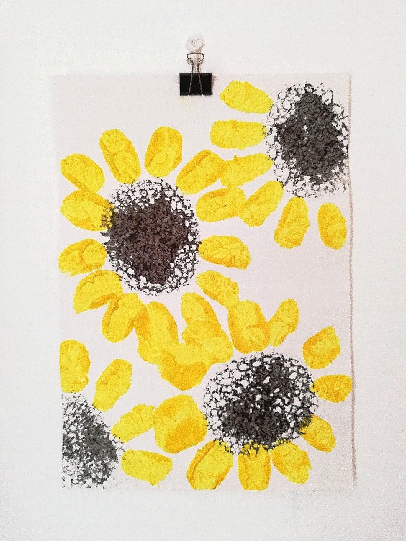 Sunflower Crafts – Spring & Summer Play – Busy Busy Learning