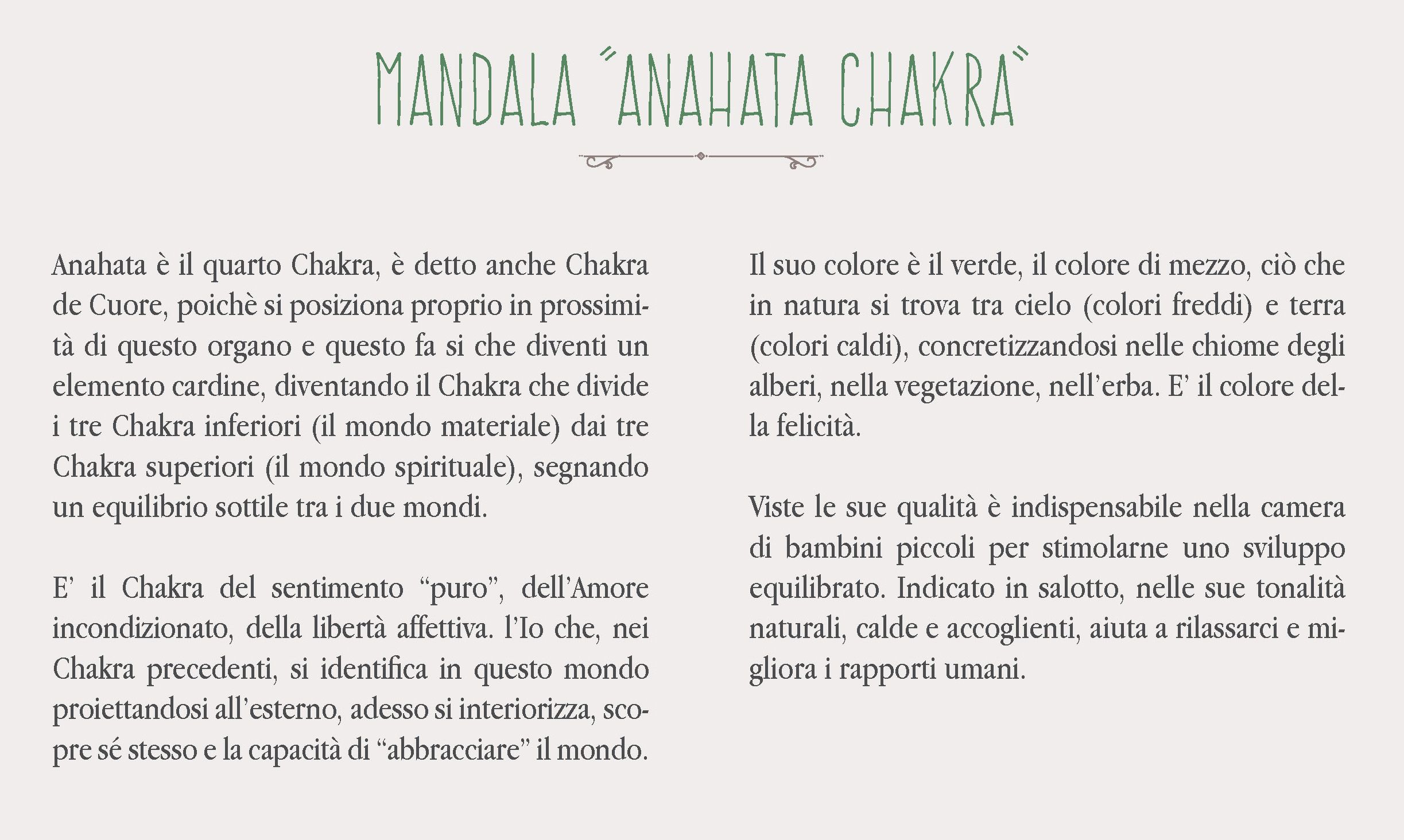 Mandala Anahata Chakra Le Superfici Dellarmonia Giada Mete Per