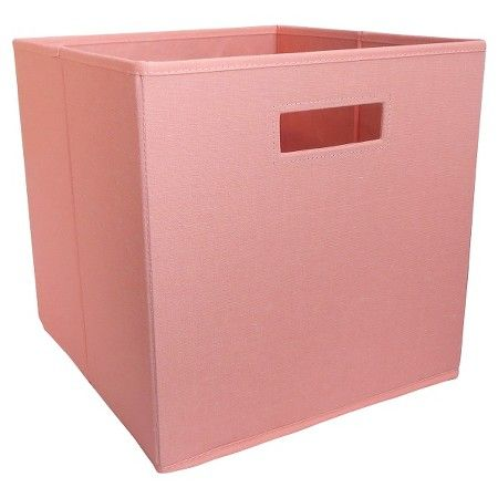 Exceptionnel Fabric Cube Storage Bin Coral   Pillowfort™ : Target