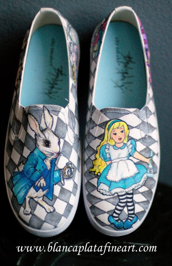 Custom Hand Painted Shoes Sneakers Flats by