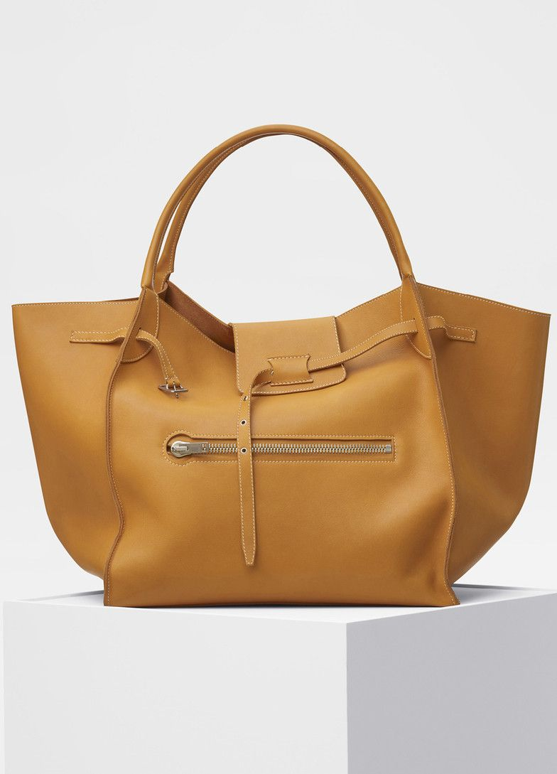 Large Big Bag in soft bare calfskin - Céline  e2946e5f5d038