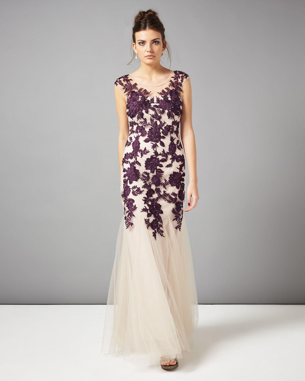 Phase Eight   Women\'s Dresses   Rita Tulle Full Length Dress ...