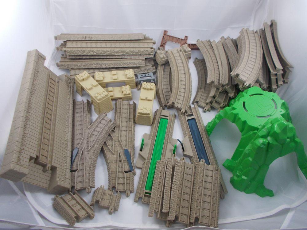 Thomas Train HiT Toys Tan Track Trackmaster Lot of 44 #HiTToys ...