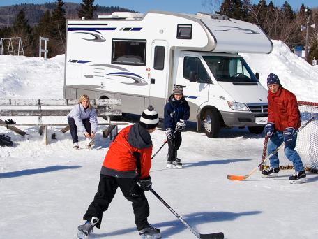 Can I RV in the Winter? | Winter camping, Camping in maine ...