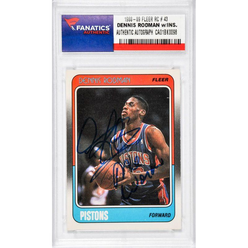 Park Art My WordPress Blog_Dennis Rodman Pistons Basketball Card