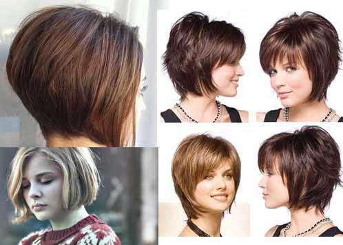Bob Cut Hairstyle Back View