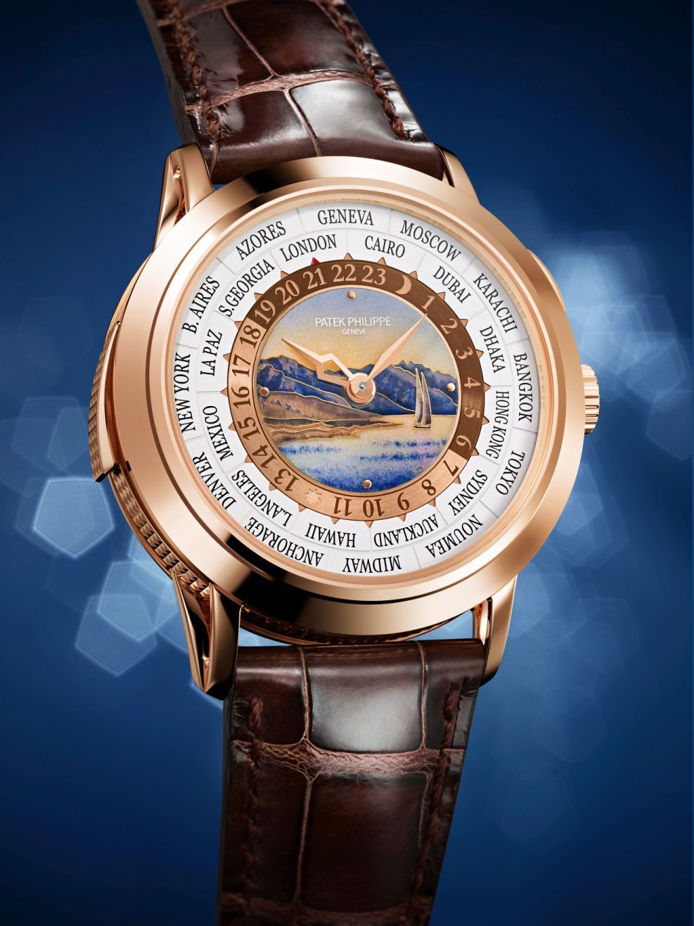 dd1d1701ba6 TimeZone   Industry News » BASELWORLD 2018 - Patek Philippe World Time  Minute Repeater