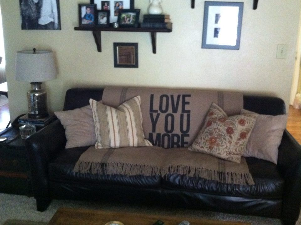 Surprising Another View Of My Love You More Throw Blanket I Purchased Gmtry Best Dining Table And Chair Ideas Images Gmtryco