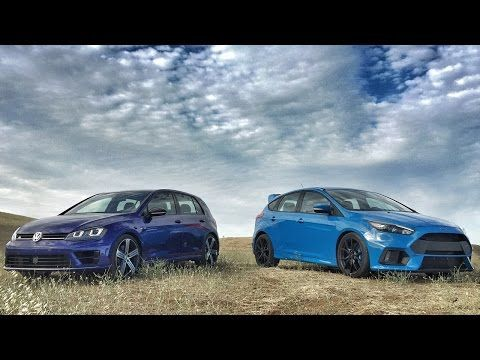 2017 Ford Focus Rs Vs 2017 Volkswagen Golf R Head 2 Head Ep 80