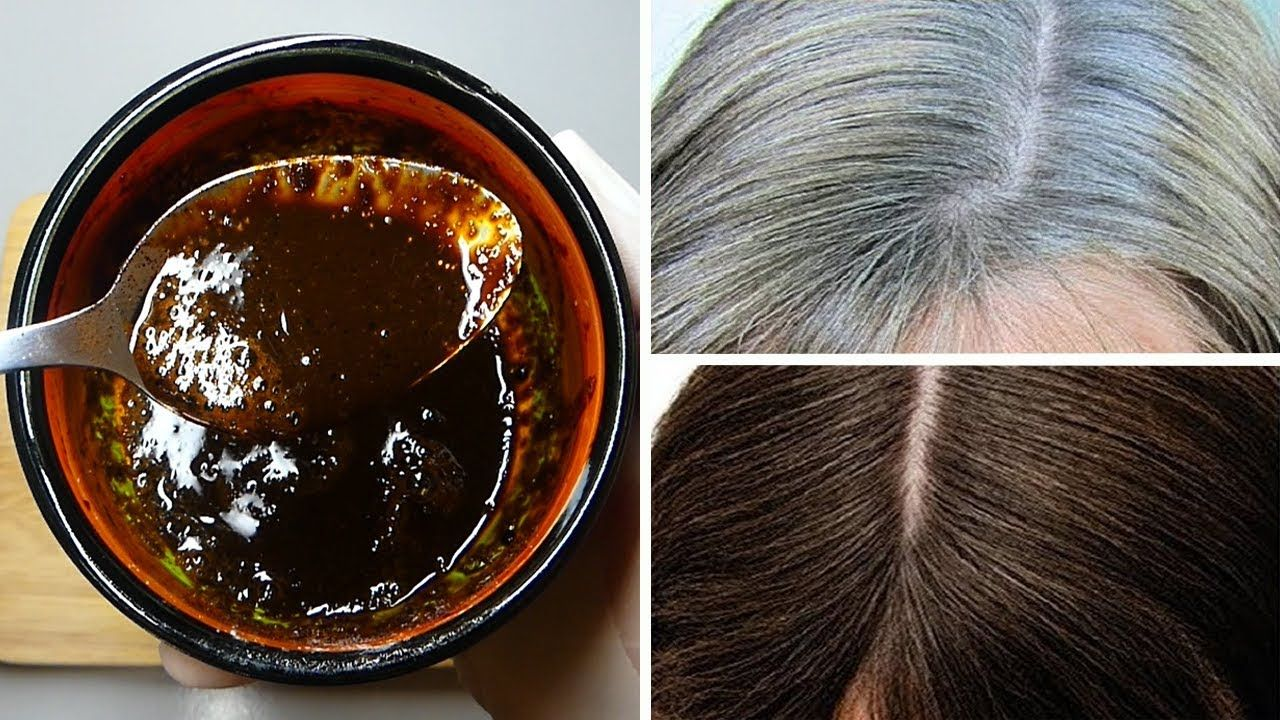White Hair To Black Permanently In 30 Minutes Naturally Tomato And Coff Coffee Hair Dye Coffee Hair White Hair