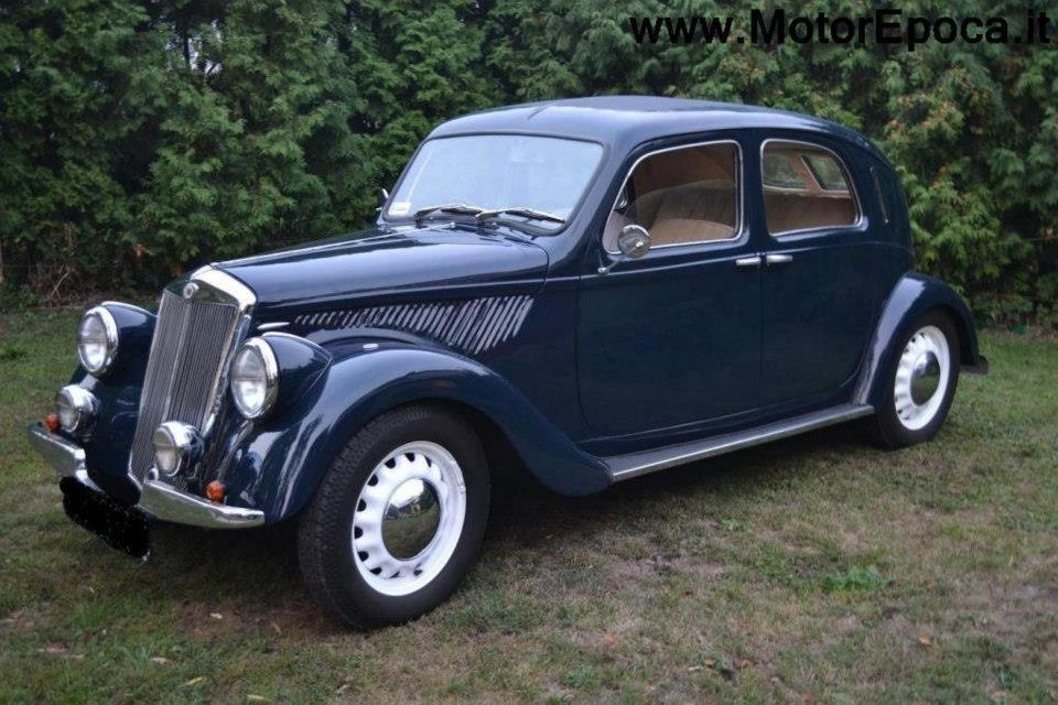 1939 Lancia Ardea, completamente restaurata in vendita | cars ...