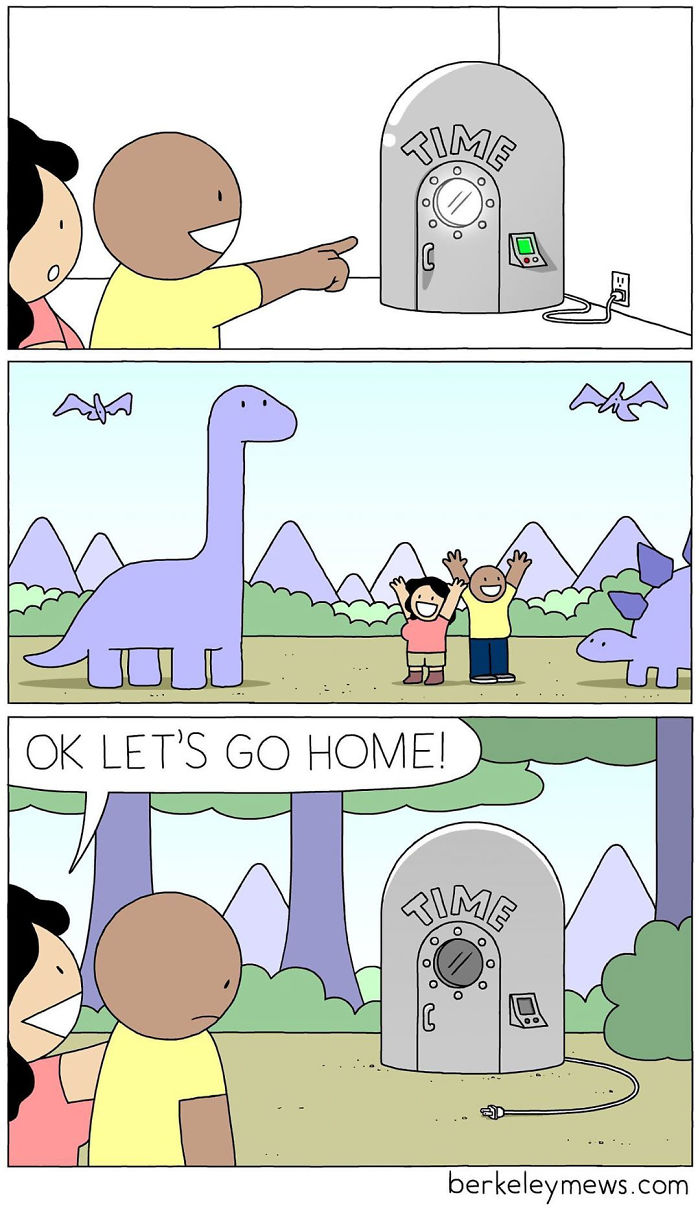 Artist Adds Dark Humor To His Comics That Look Innocent At First 30 Pics Friday Funny Pictures Dark Humor Comics Funny Cartoons