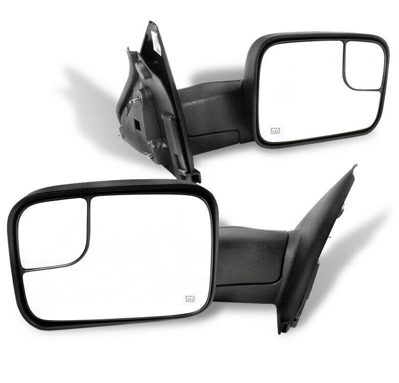 Sponsored Ebay 02 08 Dodge Ram 1500 03 09 2500 3500 Towing Adjustable Extend Power Side Mirrors With Images Dodge Ram Dodge Ram 1500 Ram 1500