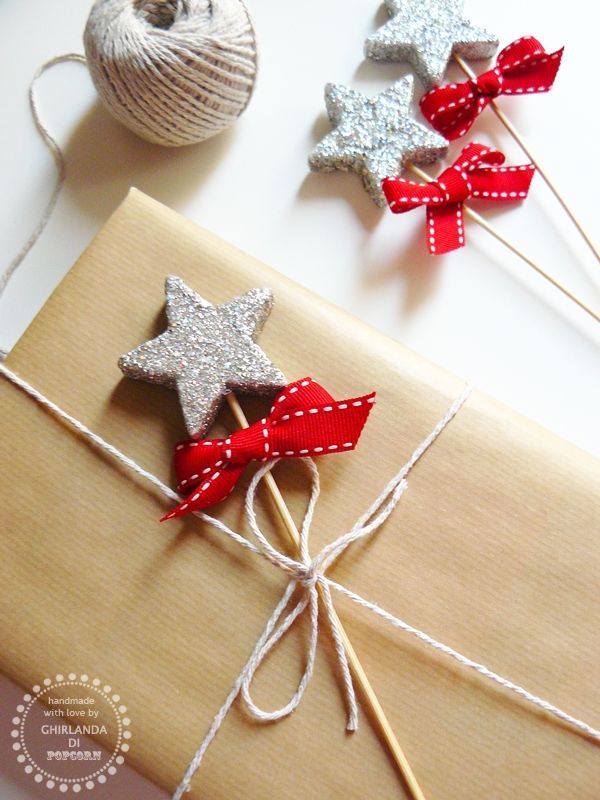Nice xmas gift wrapping idea...would love this for bday gifts too ...