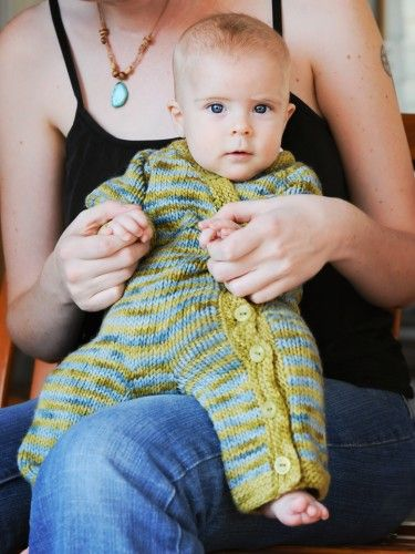 Gift Wrap Romper + Sweater | Carina Spencer