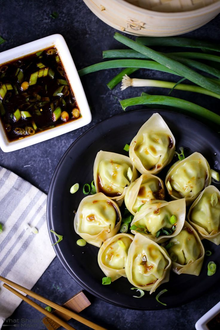 There's no chance you can eat just one of these dumplings. The creamy soybean filling is perfectly countered by a light, savory dipping sauce. A great starter to any meal!