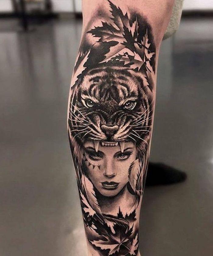 1001 Ultra Coole Tiger Tattoo Ideen Zur Inspiration Georgi