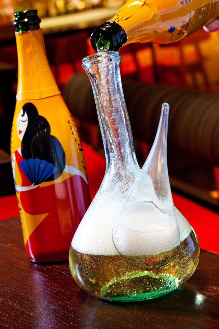 Pin By Brittt On Getaways Cava Sparkling Wine Unique Cocktails Mixology
