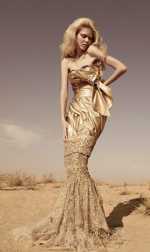The Hobble Dress, making a comeback... Fausto Sarli ...