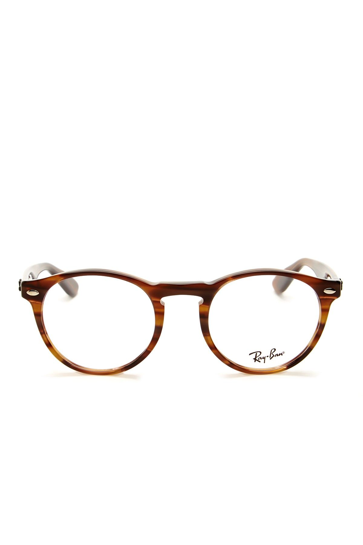 6796a4aaf9 Ray Ban Men's Striped Brown Acetate Eyeglasses | Eyewear | Gafas ...
