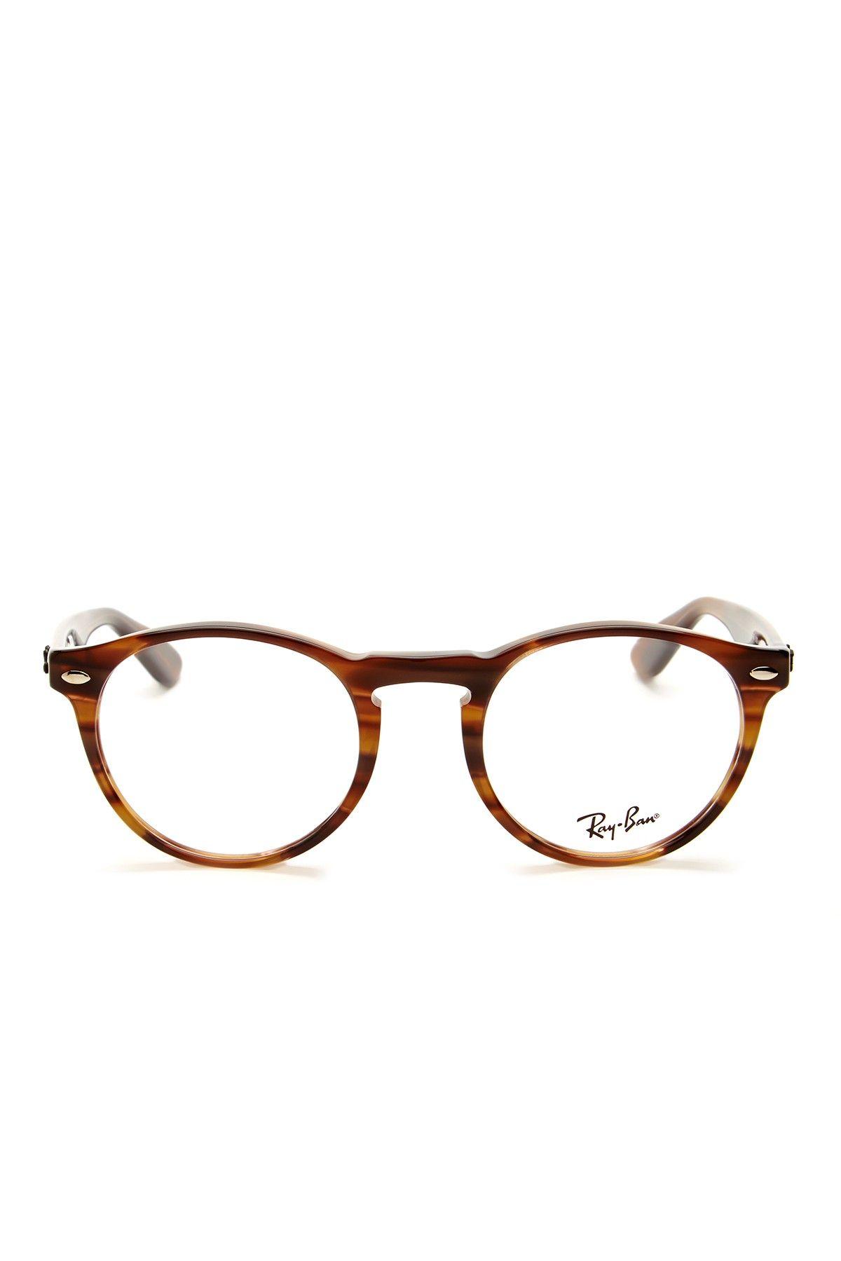Ray Ban Men\'s Striped Brown Acetate Eyeglasses   Stuff I\'d wear ...