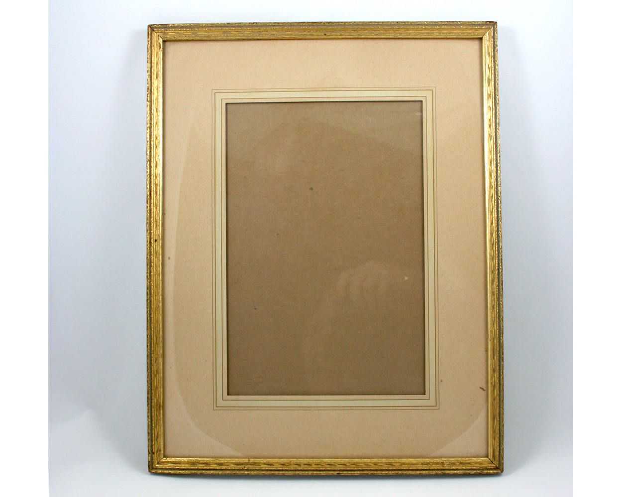 Vintage 1930s Gold Wood Picture Frame 12x15 Portrait Etsy Wood Picture Frames Gold Wood Frames On Wall