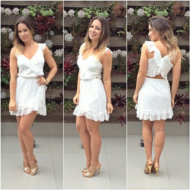 Look & Style!!! Mais um super modelo Cecconello com a jornalista e blogger @jujulianagoes...Luxuoso e Extravagante!!!