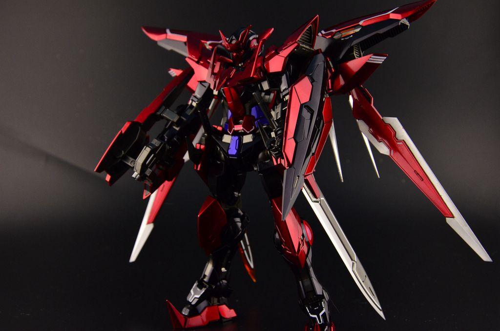 GUNDAM GUY: MG 1/100 Gundam Dark Matter Exia - Painted Build