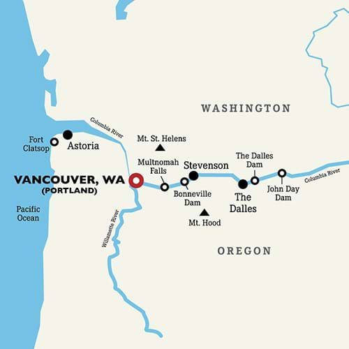 The Columbia and Snake River Cruise | Roundtrip Portland, OR ... on yakima river washington map, appalachian mountains washington map, skagit river washington map, potholes wa map, washington state volcano map, columbia river washington map, blue mountains washington map, rock creek washington map, missouri river map, washington state rivers map, hells canyon map, hood canal washington map, coldwater lake washington map, okanogan river washington map, columbia plateau map, toutle river washington map, cascade river washington map, spokane river map, washougal river washington map, olympic range washington map,