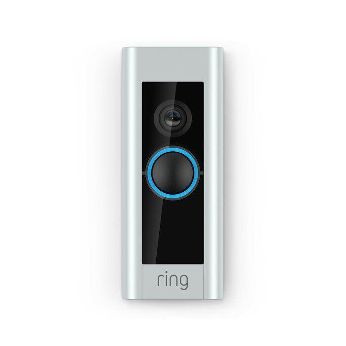 Pro Video Doorbell Push Button Kit Ring Video Doorbell Doorbell Video Doorbell