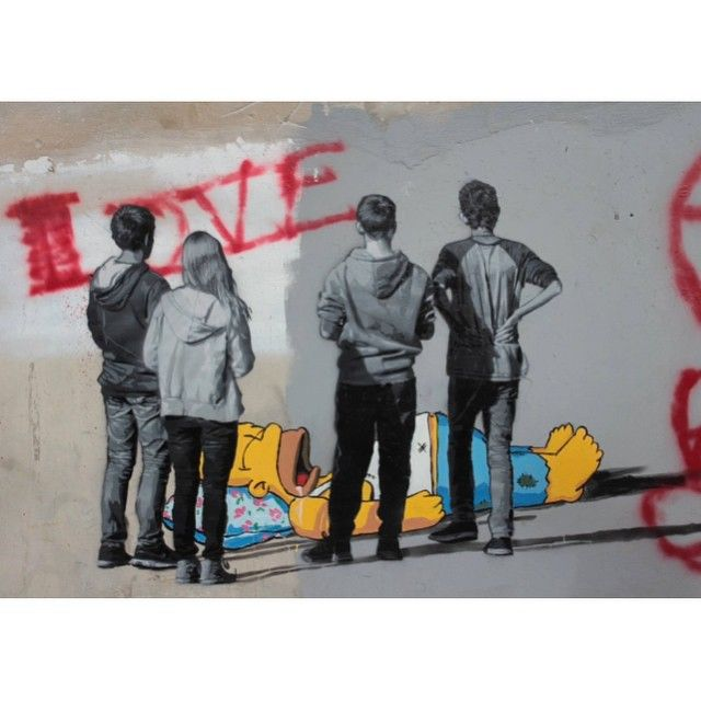 """Ernest Zacharevic & STRØK! - """"POW! WOW! HAWAII"""", Kaka'ako, Honolulu, Hawaii. #ernestzacharevic #strok #powwowhawaii #kakaako #honolulu #hawaii #graffiti #streetart #urbanart #elgraffiti #art #mural @ernestzacharevic @andersgjennestad"""