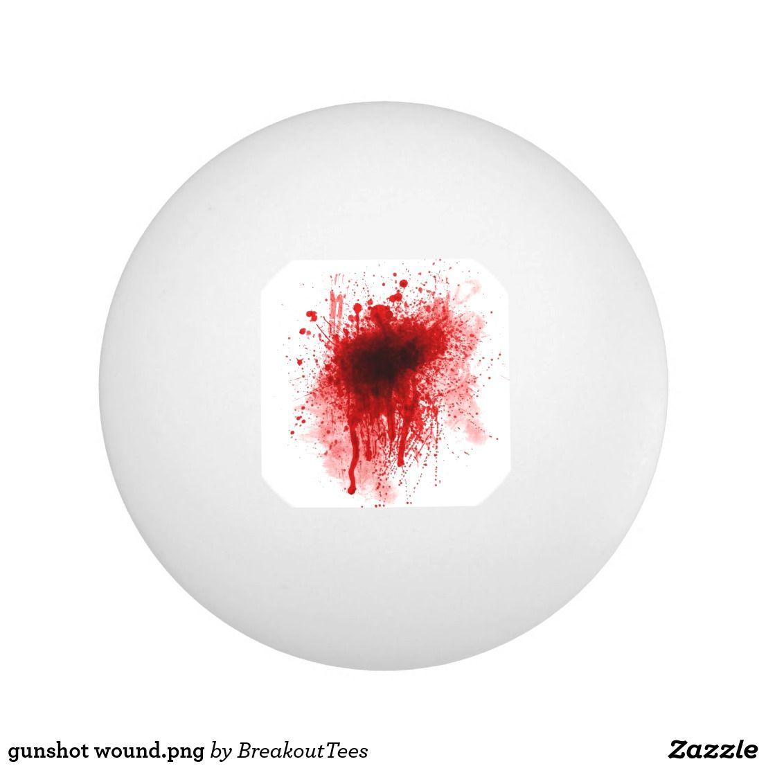 Gunshot Wound Png Ping Pong Table Tennis Halloween Design Halloween