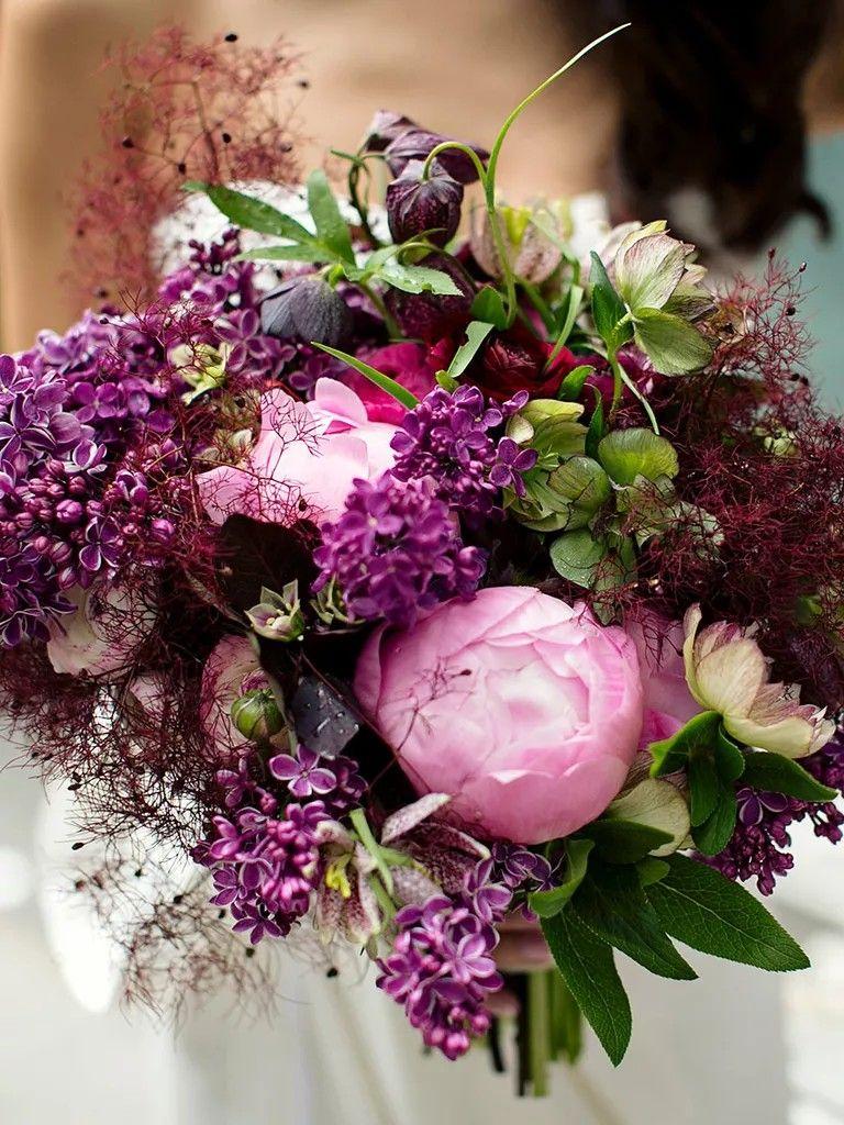 Pin By Jessica Passero On Flower Projects Purple Wedding