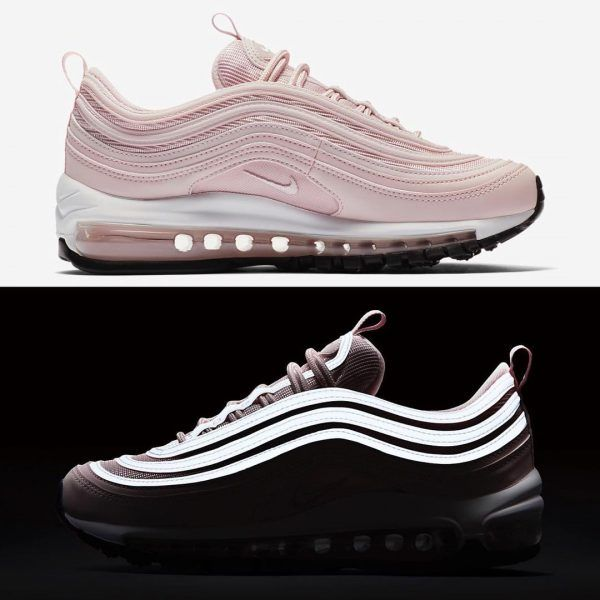 963a76c8e0b The Nike Air Max 97 sneaker glow in the dark.