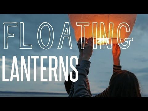 A Month of Adventure // Floating Lanterns on the Beach
