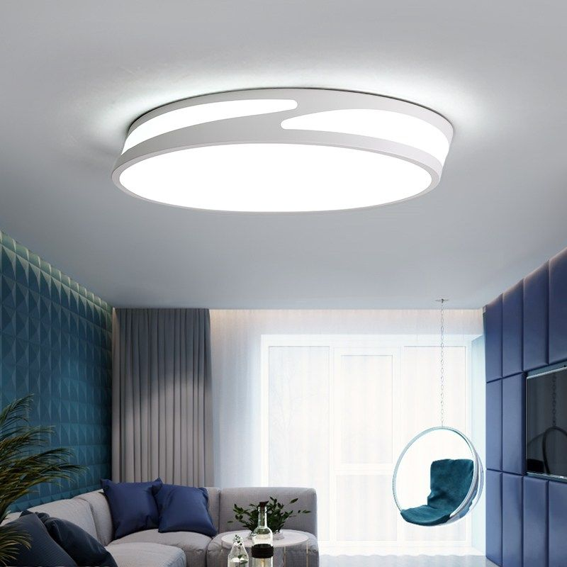 Contemporary Indoor Lighting Led Acrylic Round Ceiling Lamp