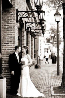 old town alexandria wedding elopement. Possible good sport for engagement photo.