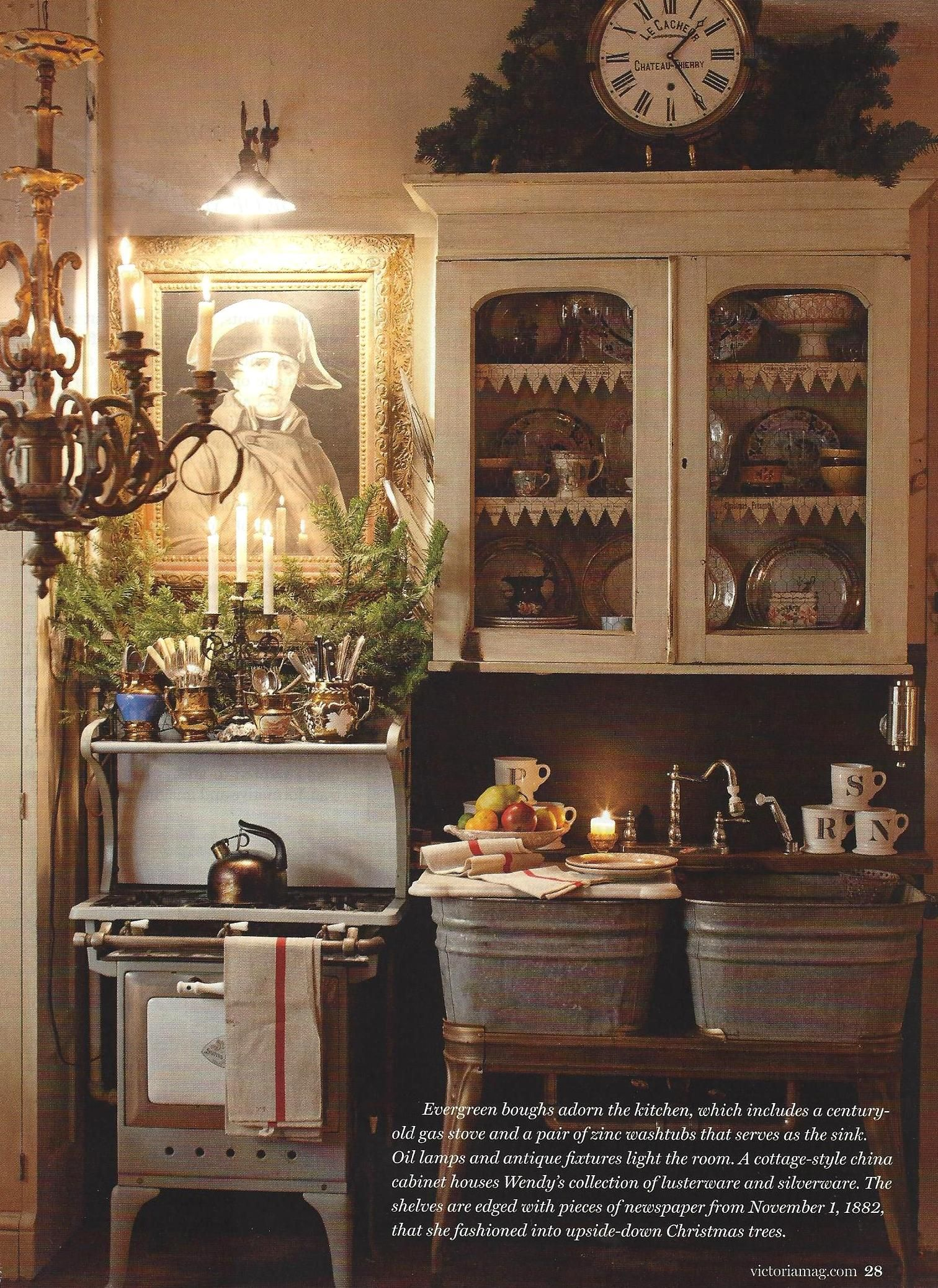French country christmas decor from victoria holiday bliss magazine