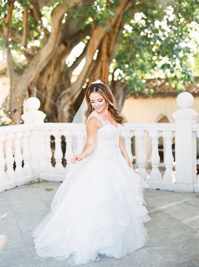 This Boca Raton Fete Wedding Dress Goals