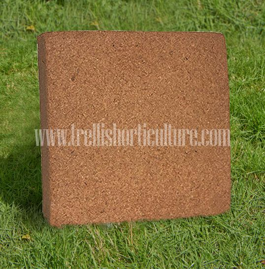 Coir Peat 5kg Blocks In Two Variants Washed And Unwashed Coir Peat Blocks Are Easily Breakable Http Tr Growing Media Plant Growth Horticulture