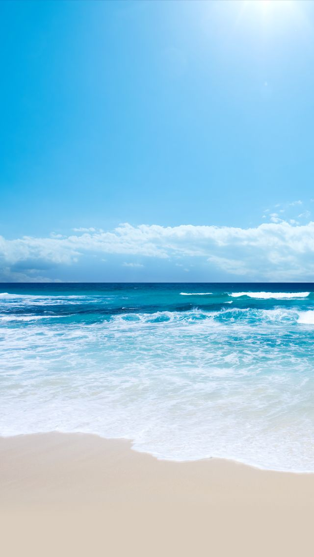 Iphone Beach Wallpaper Фотосъемка океана, Живописные