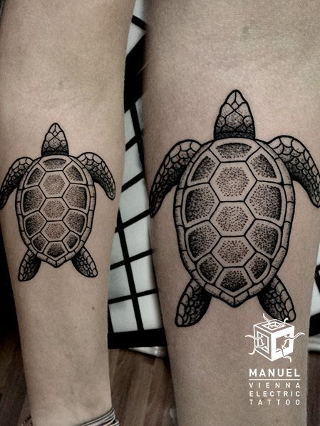 Magazine top 20 des tatouages tortue allotattoo top - Signification tortue tatouage ...