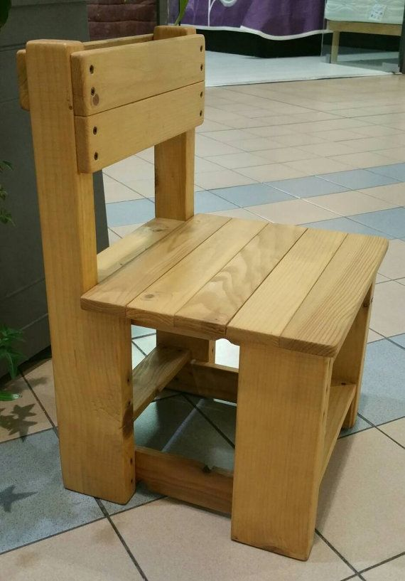 Wooden Chair For Child Small Chair Solid Wood Chair Handmade