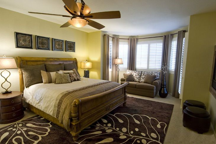 Male Bedroom Color Schemes of Contemporary Bedroom Furniture